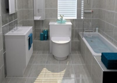 Bathroom Redesign in Enfield